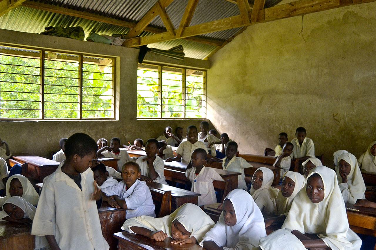 Progetto silidarietà a Zanzibar